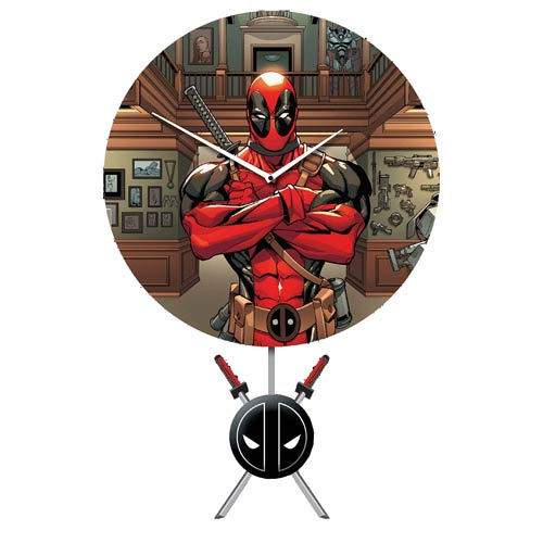 Deadpool Clock - Geek Decor