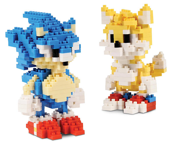 Sonic Pixel Bricks To Build Your Own Sonic Or Tails!