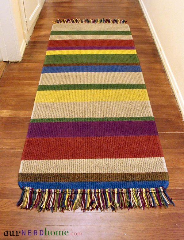 Doctor Who Rug - Geek Decor