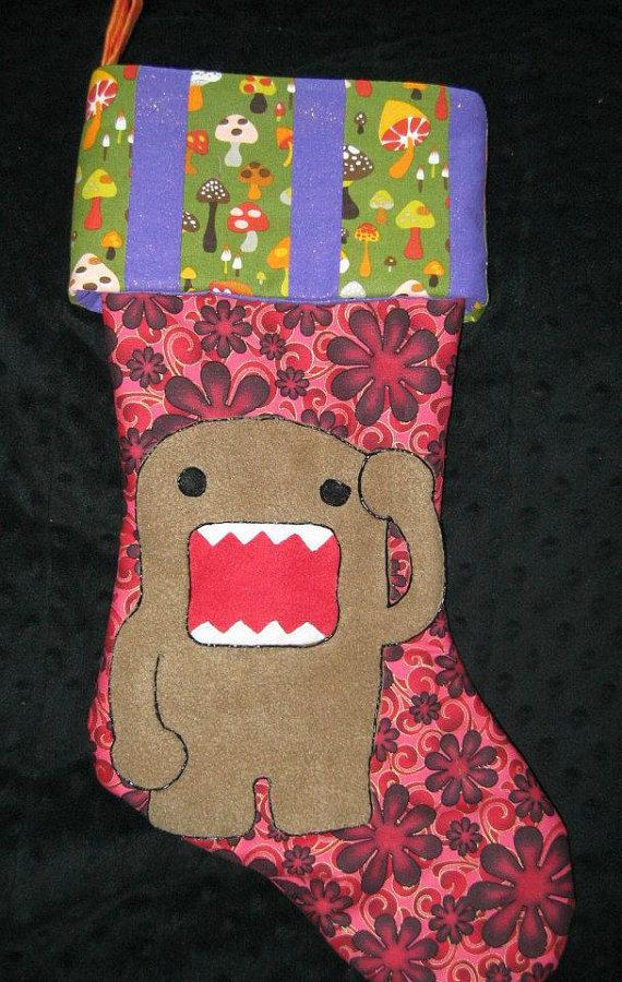 Geeky Stockings Domo - Geek Decor