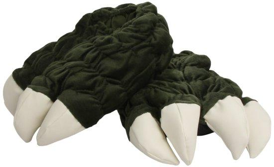 godzilla plush slippers geek decor