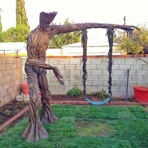 Groot Swing - Geek Decor