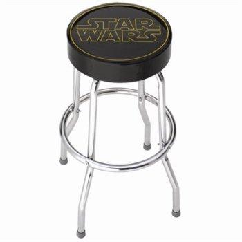 Star Wars Bar Stools Logo - Geek Decor