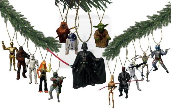 Star Wars Ornaments - Geek Decor