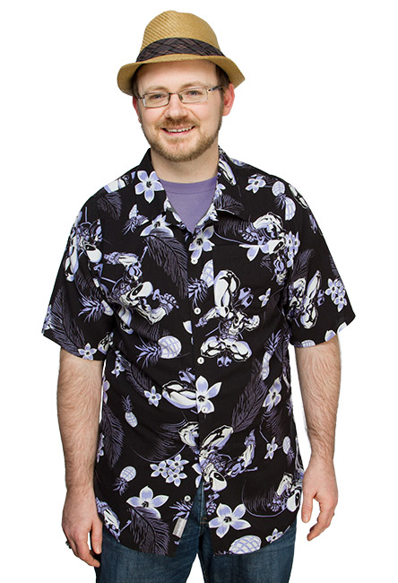 Wear The Deadpool Hawaiian Shirt & Bring Hawaiian Shirts Back In Style