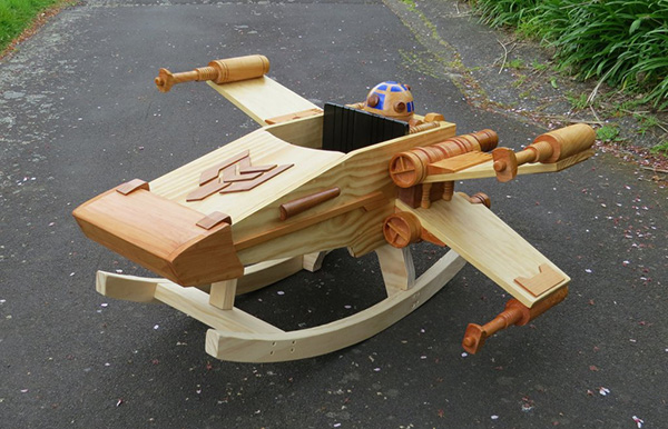 X-Wing Rocker - Geek Decor