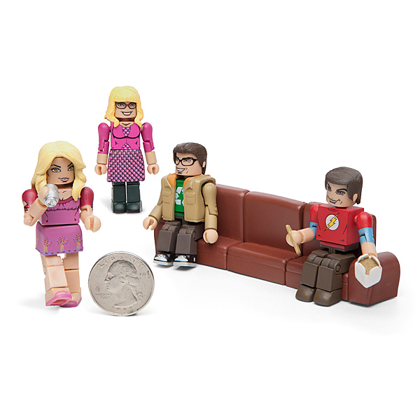 Big Bang Theory Minimates Set 2 - Geek Decor