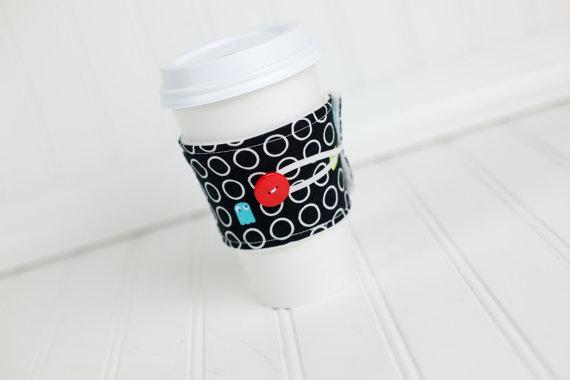 Pac-Man Coffee Sleeve - Geek Decor