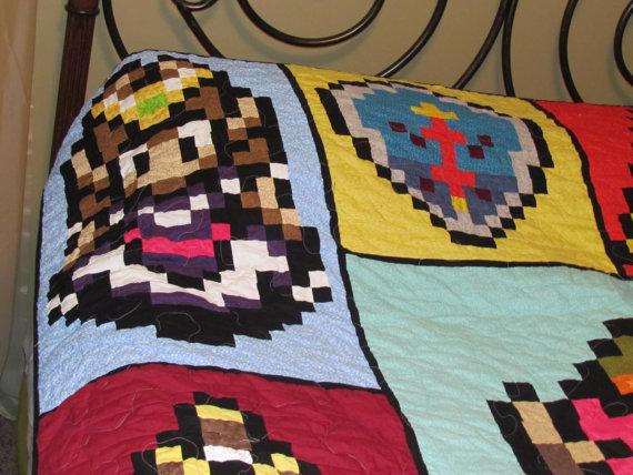 Zelda Quilt Zelda Herself - Geek Decor