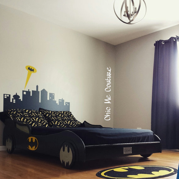Batman Bedroom Batmobile Bed - Geek Decor