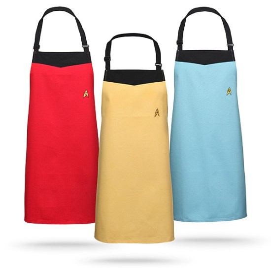 Star Trek Starfleet Apron - Geek Decor