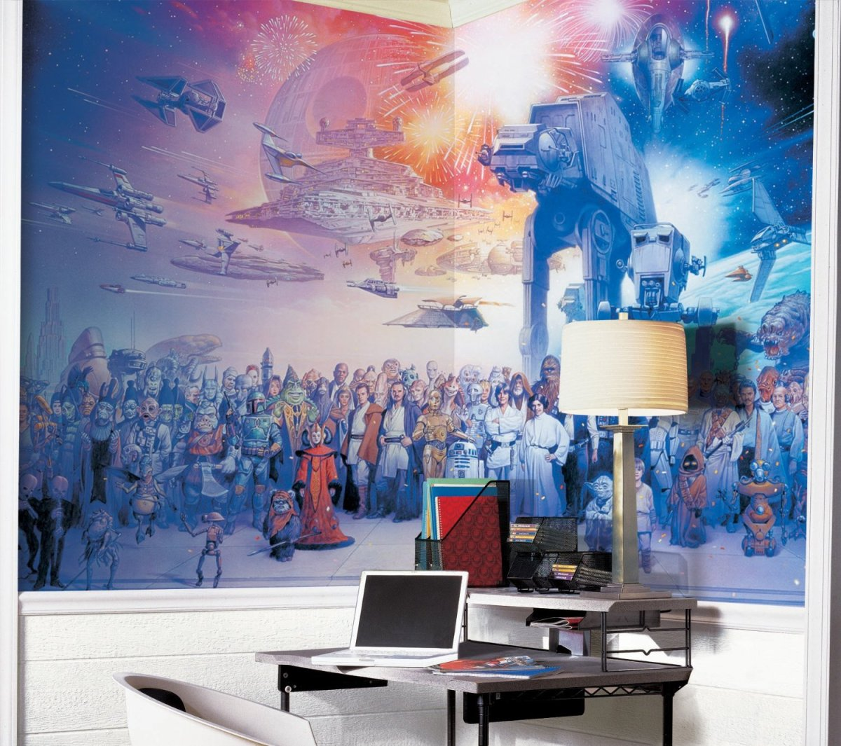 Geek Out Over The Star Wars Saga Wall Mural