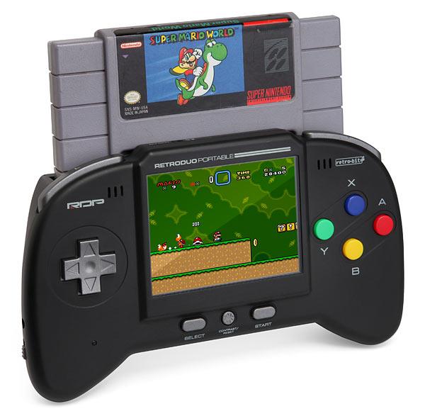 Retro Duo Portable NES/SNES Game System - Geek Decor