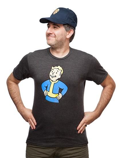 Vault Boy T-Shirt - Geek Decor