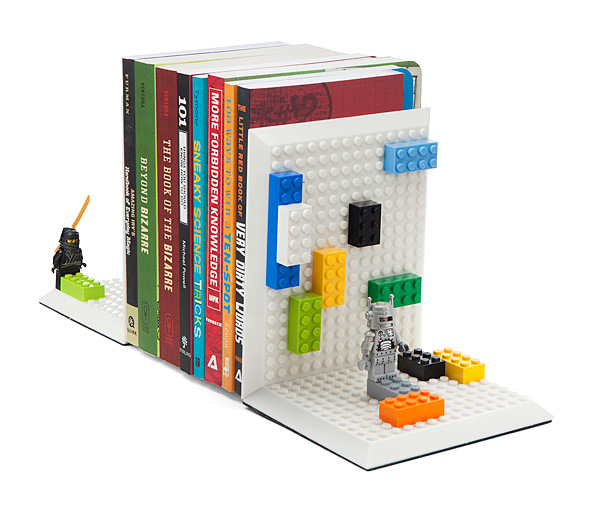 Build On Bricks Bookends - Geek Decor