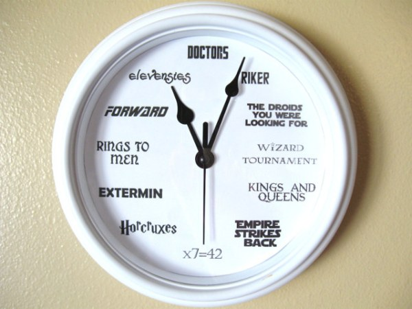 Geek Nerd Clock - Geek Decor