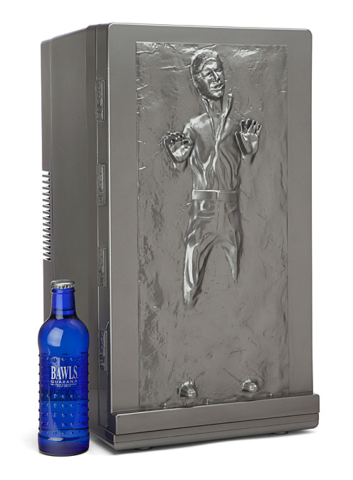 You Love Star Wars, But Do You Have A Han Solo Fridge?