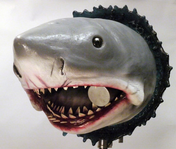 Bruce Jaws Bust Prop Front - Geek Decor