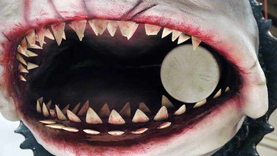 Bruce Jaws Bust Prop Terrifying Mouth Zoom - Geek Decor