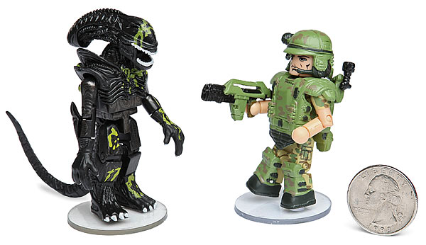 Aliens Minimates - Geek Decor