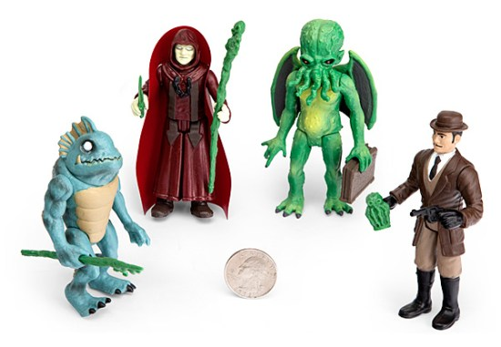 Legends of Cthulhu Action Figures Size - Geek Decor
