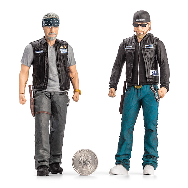 Sons of Anarchy Action Figures - Geek Decor