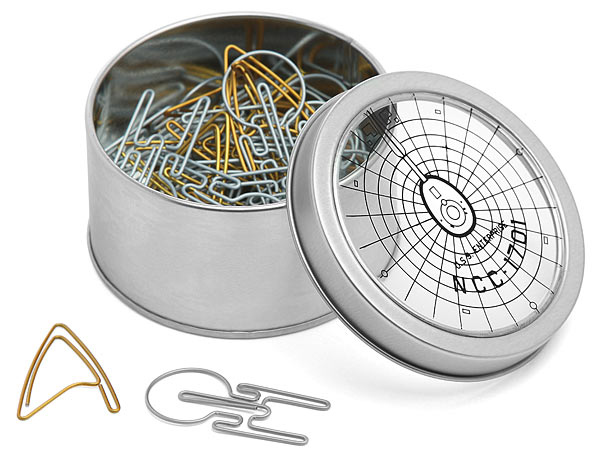 Star Trek Paper Clips - Geek Decor