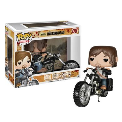 The Walking Dead Vinyl Pop Figure Daryl & Chopper