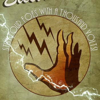 Bioshock Electric Plasmid Poster -- Geek Decor