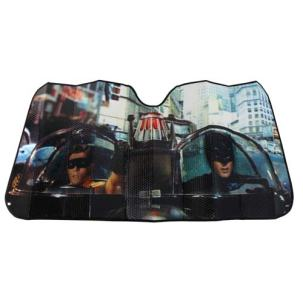 Retro Batman Accordion Sunshade -- Geek Decor