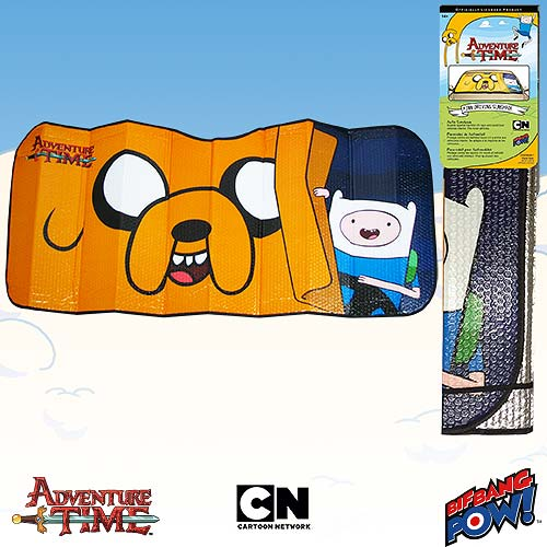 Adventure Time Sunshade - Geek Decor