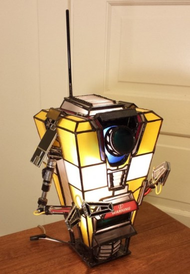 Claptrap Lamp - Geek Decor