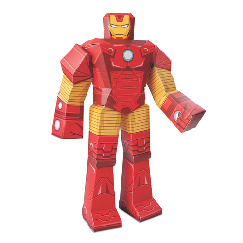 Iron Man Papercrafts - Geek Decor