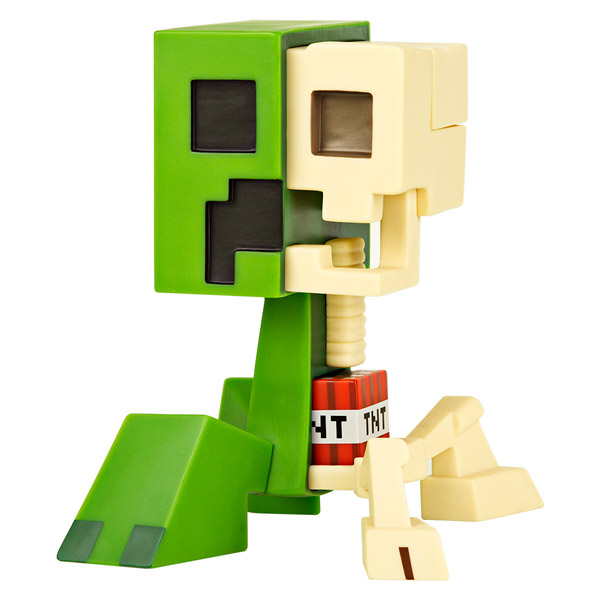 Minecraft Creeper Anatomy Front - Geek Decor