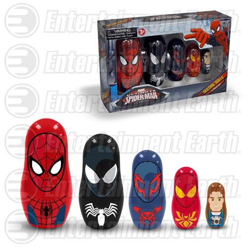 Spider-Man Nesting Dolls - Geek Decor
