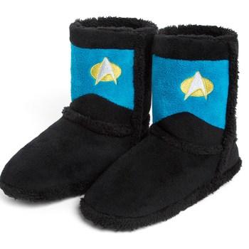 Star Trek Boot Slippers Science Commander - Geek Decor