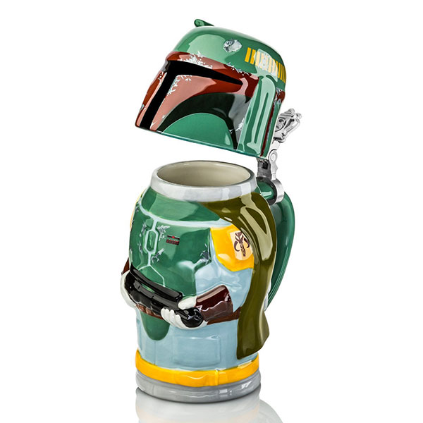 Star Wars Steins - Boba Fett - Geek Decor