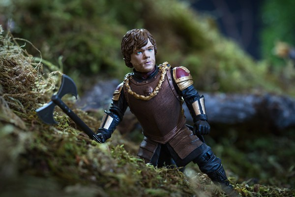 Tyrion Lannister Action Figure Action Shot - Geek Decor