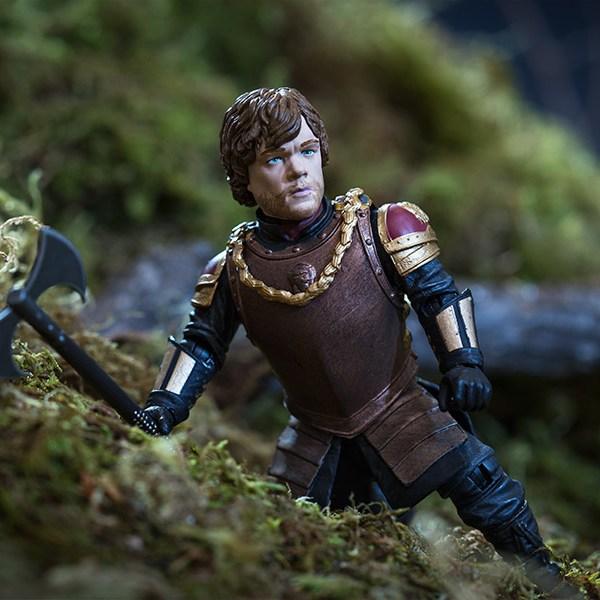 Tyrion Lannister Action Figure Action Shot - Geek Decor