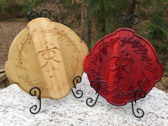 Wood By Hand, LLC. - LOTR - Geek Decor