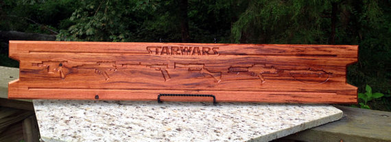 Wood By Hand, LLC. - Star Wars - Geek Decor