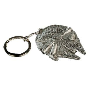 Millennium Falcon Keychain -- Geek Decor