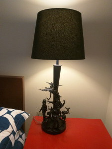 DIY Action Figure Lamp - Geek Decor