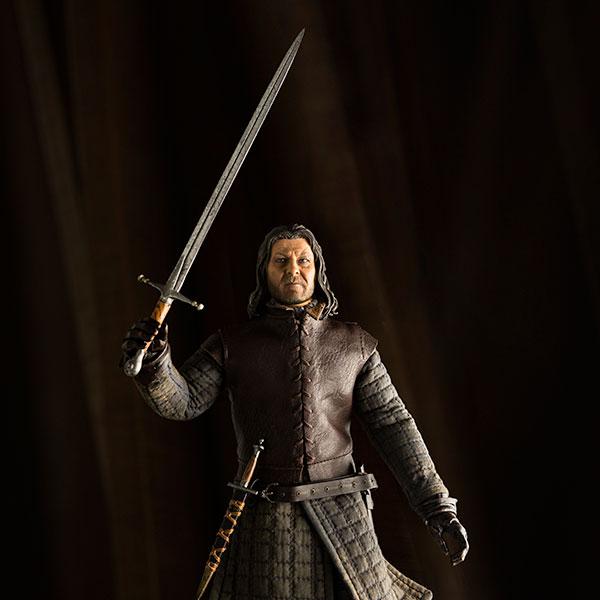 Eddard Stark GOT Figure Pose - Geek Decor