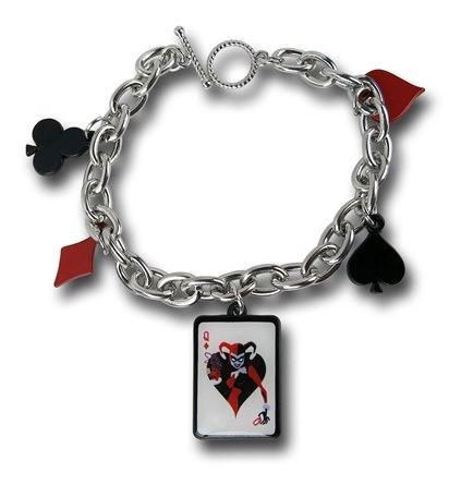 Harley Quinn Charm Bracelet - Geek Decor