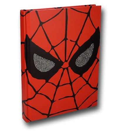 Spiderman Hard Cover Journal - Geek Decor