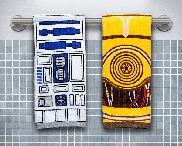 Star Wars Hand Towels - Geek Decor