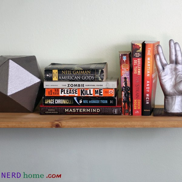 Vulcan Hand Finished Product - Geek Decor