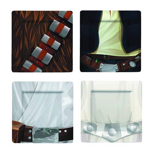 Jedi Plate Set #1 -- Geek Decor