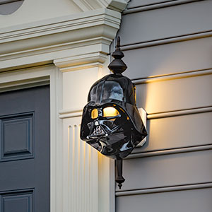 Darth Vader Porch Light Cover -- Geek Decor